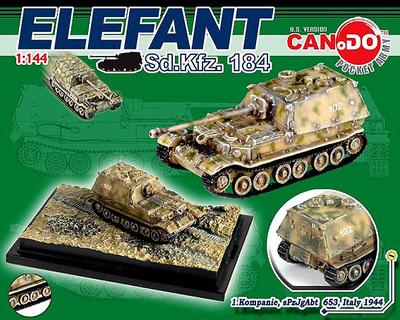 Elefant Sd.Kfz. 184, 1.Kompanie, sPzJgAbt 653, Italy, 1944, 1:144, Can.Do