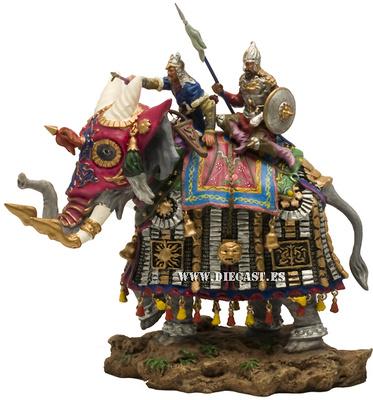 Elefante Mongol de guerra, Siglo XVII, 1:32, Planeta Agostini