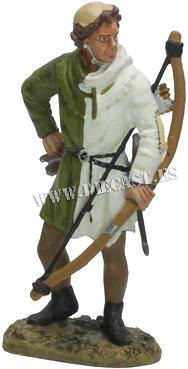 English Longbowman, Crecy, 1346, 1:30, Del Prado