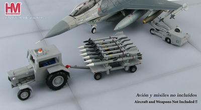 Equipo moderno de carga de armamento, USA, 1:72, Hobby Master