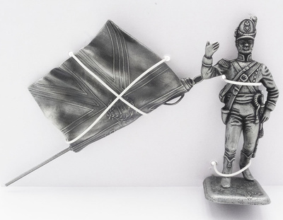 Estandarte, Porta Estandarte del 1er Regimiento de Guardias a Pie, 1:24, Atlas Editions