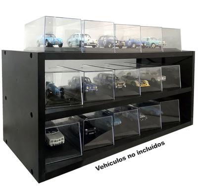 Estantería expositora de plástico para quince modelos, Atlas Editions