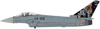 """Eurofighter Typhoon EF2000, """"NATO Tiger Meet 2016"""", Ala 14, Ejército del Aire, Los Llanos, 1:72, Hobby Master"""