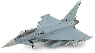 Eurofighter Typhoon EF2000 C.16-48, Ala 14, Base Aérea Los Llanos, Spanish Air Force, 2019, 1:72, Hobby Master