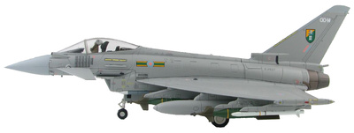 "Eurofighter Typhoon ZJ927 ""QO-M"", 3 Sqn., RAF, Libia 2011, 1:72, Hobby Master"