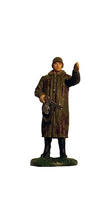 Explorador con uniforme de camuflaje, Ejército Soviético, 1941-1942, 1:32, Eaglemoss