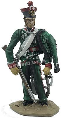 Explorador del 1º Regimiento de Exploradores de la Guardia Imperial, Escuadrón de la Vieja Guardia, 1814, 1:30, Hobby & Work