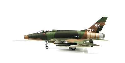 "F-100C Super Sabre ""Miss Mynookie"", 188th TFS New Mexico, South Vietnam, 1968, 1:72, Hobby Master"