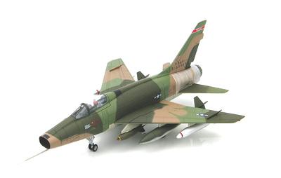 F-100D Super Sabre 0-53669, 182nd TFS, Texas ANG, 1:72, Hobby Master
