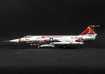 F-104, 70928 479th TFW USAF George AFB, 1964, 1:72, Witty Wings