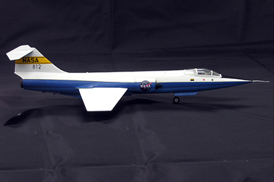 F-104 Starfighter, NASA F-104G, 1:72, Witty Wings