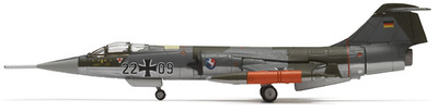 F-104G Starfighter, Luftwaffe JABoG 36 Lockheed, 1:200, Herpa