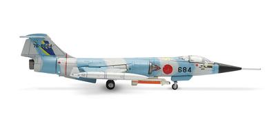 F-104J Starfighte,r  Lockheed, JASDF-202nd Hikotai, 1:200, Herpa
