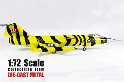 F-104S RCAF, Tiger Markings 1972, Tigermeet, 1:72, Witty Wings