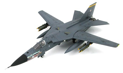 "F-111F Aardvark ""The Aardvark Retires"" 27th FW, Cannon AFB, 27 Julio, 1996, 1:72, Hobby Master"