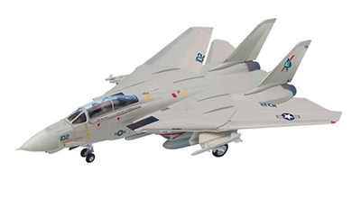 "F-14 Tomcat, U.S. Navy, VFA-41 ""Black Aces"", 1:48, Franklin Mint"