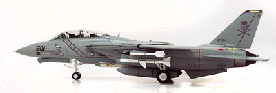 F-14A Tomcat, US Navy VF-84 Jolly Rogers, Low Visibility, 1984, 1:72, Witty Wings