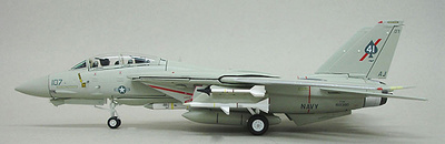 F-14A Tomcat, USAF Vf-41 Black Aces, Aj107, 1:72, Witty Wings