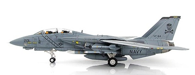 "F-14A Tomcat 162692, VF-84 ""Jolly Rogers"" Op. Desert Storm, 1991, 1:72, Hobby Master"