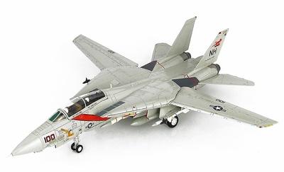 """F-14A Tomcat VF-114 """"Aardvarks"""", CVW-11, USS A. Lincoln, 1991, 1:72, Hobby Master"""