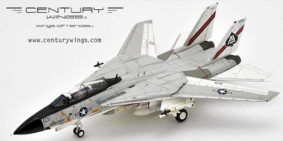 F-14A Tomcat VF-41 Black Aces, AJ101 1978, (Normal Version), 1:72, Century Wings