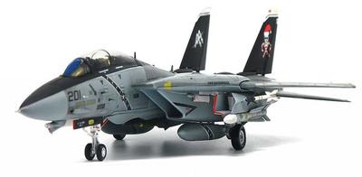 "F-14B Tomcat VF-103 Jolly Rogers, ""Santa Cat"", CVW-8, USS Enterprise, 1996, 1:72, JC Wings"