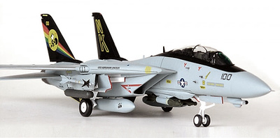 F-14D Tomcat VF-31 Tomcatters CVW14, USS Abraham Lincoln, 1998, 1:72, JC Wings