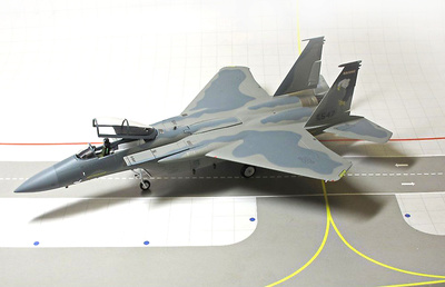 F-15C, 173rd Fighter Wing, Oregon Air Natonal Guard, 1:72, Gemini Aces
