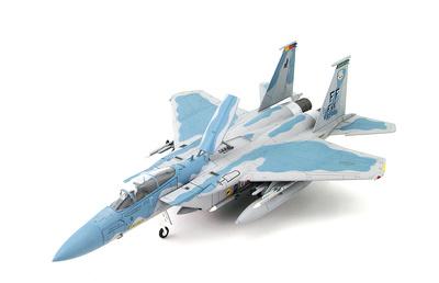 F-15C Eagle AF 83-0017/FF, 1st FW, Langley AFB, Virginia, Julio, 2004, 1:72, Hobby Master