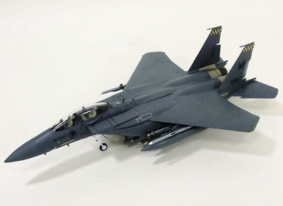 "F-15SG Strike Eagle USAF 05-0005 MO 428TH FS ""BUCANEERS"", 1:72, Witty Wings"
