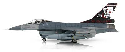 "F-16A Block 20 ROCAF, 21st FS ""Gamblers"" ""20th Anniversary Scheme"", 2016, 1:72, Hobby Master"