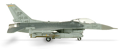 F-16C Fighting Falcon US Air Forces Europe 52nd FW, 1:200, Herpa