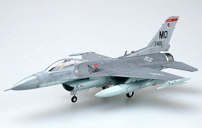 F-16C Fighting Falcons, USAF 91-0401-MO, 1:72, Easy Model