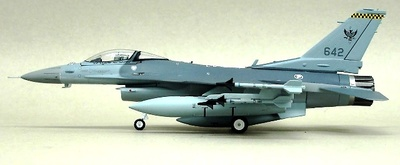 F-16C Singapur Air Force, 1:72, Witty Wings