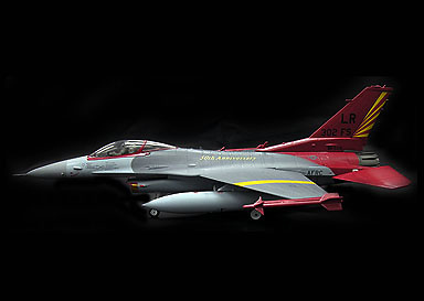 F-16C USAF, Tuskegee Airmen, 50th Annyversary, , 1:72, Witty Wings