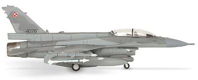 F-16D, Polish Air Force 3. ELT Lockheed Martin, 1:200, Herpa