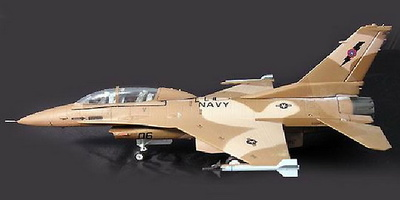 F-16D Fighting Falcon, US Navy  NSAWC, 1:72, Witty Wings