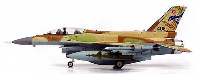 F-16I, Israeli Air Force, No 408, The Negev Squadron, 2007, 1:72, Witty Wings