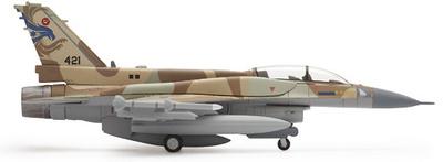 "F-16I ""Sufa"", Israeli Defense Force 253 Sqd ""Negev"" Lockheed, 1:200, Herpa"