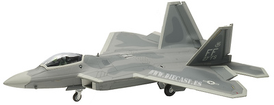 F-22A Raptor, USAF 1st FW, 27th FS Fightin' Eagles, Langley Air Force Base, Virginia, 2006, 1:72, Gaincorp