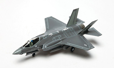 F-35A Lightning II JSF USAF 33rd FW, 58th FS Gorillas, #08-0746, Eglin AFB, FL, 1:72, Air Force One