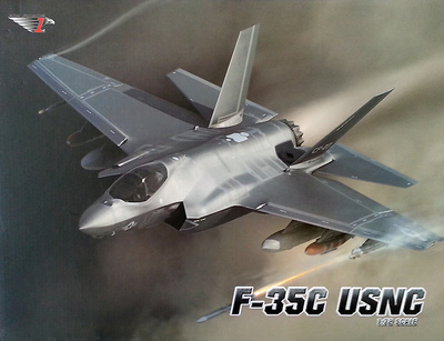 F-35C Lightning, USMC, 1:72, Air Force One