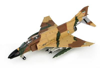 F-4D Phantom II, 67-14869/3-6697, 71st TFS, TFB.7, Fuerzas Aéreas Iraníes, Base Aérea de Shiraz, 1980, 1:72, Hobby Master