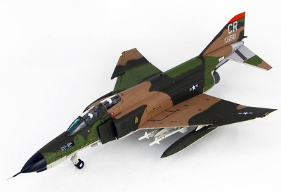 "F-4E Phantom II CR/74-650, 32nd TFS ""Wolfhounds"", Soesterberg, Países Bajos, 1978, 1:72, Hobby Master"