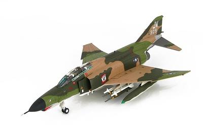 """F-4E Phantom II """"El Toro Bravo"""" 469th TFS, 388th TFW, Korat Royal Thai Air Force Base, 1960s, 1:72, Hobby Master"""
