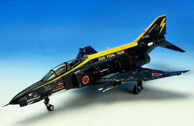 "F-4EJ Kai - 8th Squadron, ""Black Panthers,"" Japan Air Self-Defense Force, 2008, 1:72, X-Plus"