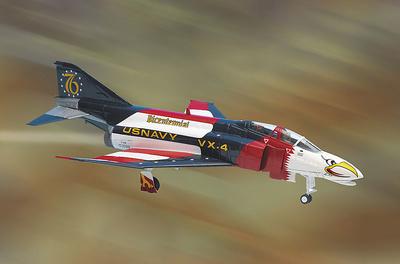 F-4J Phantom II, U.S. Navy,  Bicentennial, 1976, 1:48, Franklin Mint