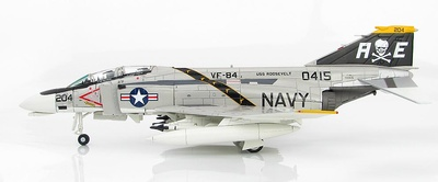 F-4N Phantom II 150415, VF-84, USS Roosevelt, sobre el monte Etna, 1975, 1:72, Hobby Master