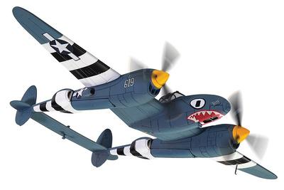 F-5E-2 Lightning 43-28619 'Rita/Ruth', USAAF, 27º Escuadrón de Reconocimiento Fotográfico, 8ª Fuerza Aérea, 1944, 1:72, Corgi