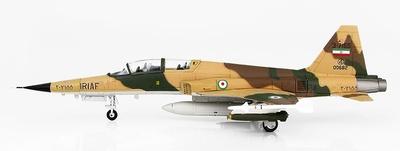F-5F Tiger II 3-7155, 43rd TFS, Fuerzas Aéreas Islámicas de Irán,  2009, 1:72, Hobby Master
